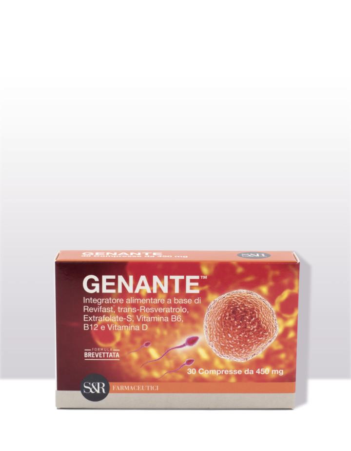 GENANTE - Integratore alimentare - Dalla ricerca S&R Farmaceutici nell'ambito della scienza della riproduzione