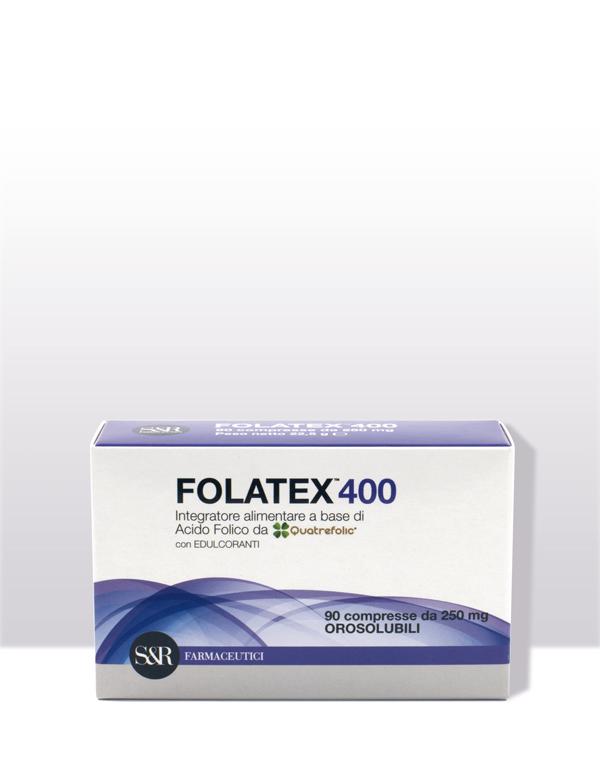 FOLATEX400 - Integratore alimentare - L'acido folico biologicamente attivo