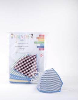 MASCHERINA- TNT BAMBINI lavabile - confezione da 7 pezzi - Dispositivo DPI