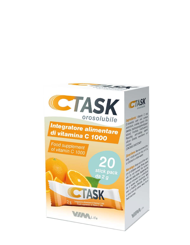 CTASK - Integratore alimentare - Per contrastare la stanchezza e ricaricare l'energia