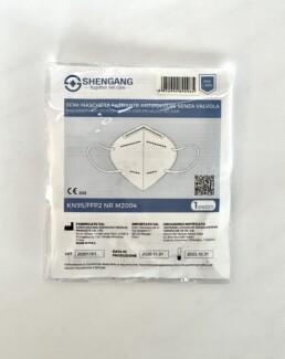 MASCHERINA DPI FFP2 - Confezionata singolarmente - Dispositivo DPI